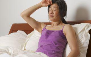 Потею ночью: причины, по которым женщина обильно потеет