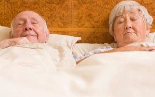 Почему пожилые люди обычно много спят: причины, варианты нормы и отклонения