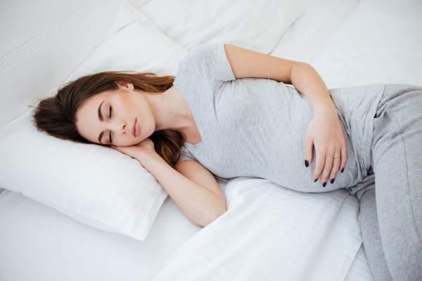 сон на левом боку при беременности