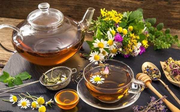 травяной чай перед сном