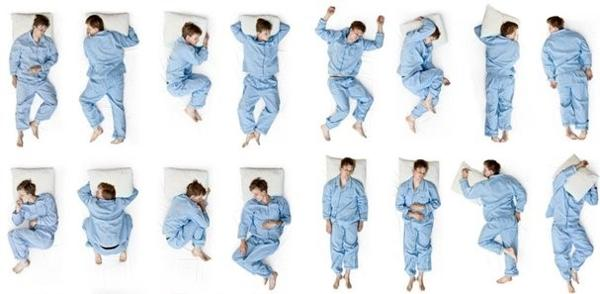 как меняются позы во сне